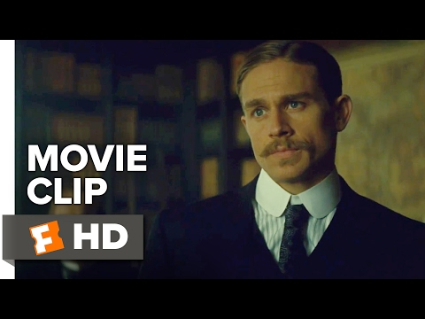 The Lost City of Z Movie CLIP - Mapping (2017) - Charlie Hunnam Movie