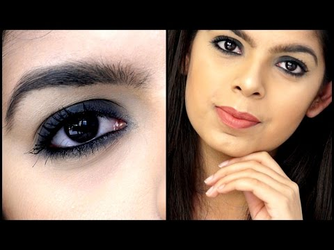 Smokey Eye using ONLY Kajal