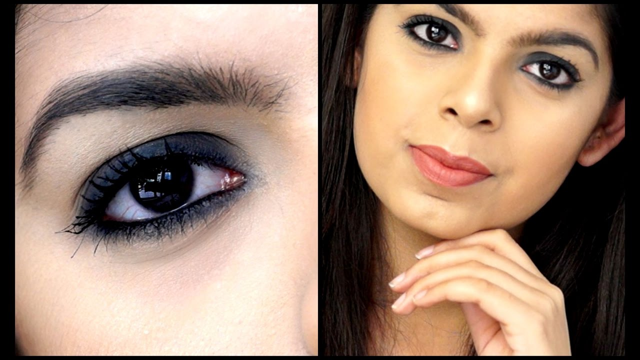 Smokey Eye using ONLY Kajal  Beginner Friendly  Makeup Tutorial