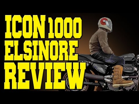 Review 1000 ICON Boot Motorcycle Elsinore l1cFKJ