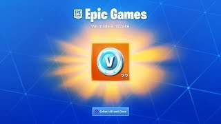 Fortnite rembourse V-Bucks...