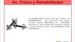 ¿Acondicionador Físico y Rehabilitador?