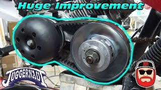Juggernaut CVT Pulley ~ Street Legal Mini Bike