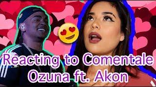 Reacting to Ozuna- Comentale ft Akon | Lali |