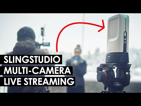 Multi-Camera Live Streaming Setup — Sling Studio Live Switcher, Recorder and Streaming Hub thumbnail