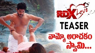 RDX Love Official Teaser | Payal Rajput RDX Love Teaser | Telugu Movies 2019 | Friday poster