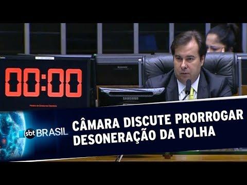 MP 936: Câmara Discute Texto Que Prorroga A Desoneração Da Folha De Pagamento | SBT Brasil(26/05/20)