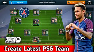 Create PSG Team ★ Kit Logo & Players ★ Dream League Soccer 2018