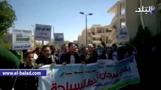 بالفيديو والصور.. وزير التنمية المحلية يشهد مسيرة تنشيط السياحة لطلاب جنوب الوادى