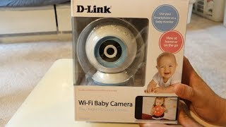 D-Link Wi-Fi Baby Camera DCS-825L Unboxing