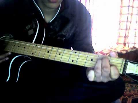How To Play Tune Mere Jana Emptiness On Guitar Youtube