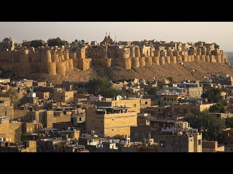 Jaisalmer, Rajasthan, India in 4K Ultra HD