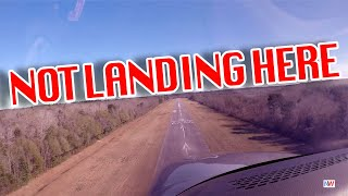 "I DON""T LIKE THIS... NOPE... NOT LANDING HERE!!!"