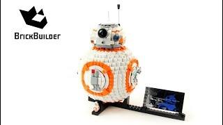 Лего Зоряні війни 75187 ВВ-8 - ступінчаста Лего будувати