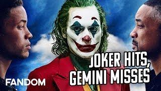Joker Has Huge Week 2, Gemini Man Falls Short   Charting with Dan!