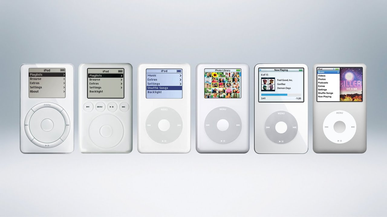 History Of The Ipod Youtube