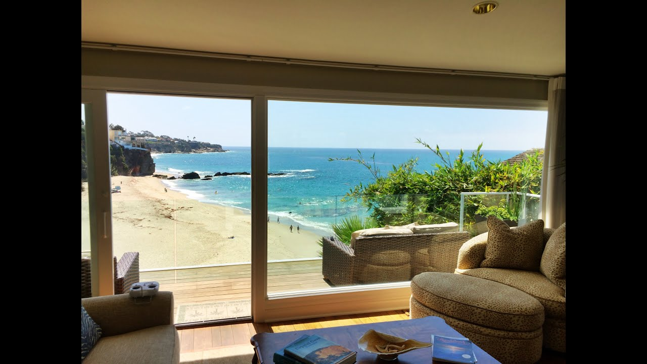 Excellent oceanfront home in laguna beach by chris guziak - House with a view ...
