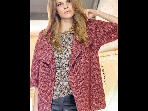 Вязаные Кардиганы - картинки - фото - 2019 / Knitted Cardigans Pictures Photos