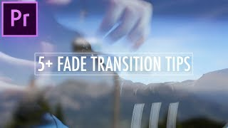 5 Key Essentials for Mastering the Cross Dissolve Transition in Adobe Premiere Pro CC!