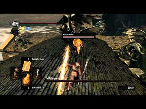 Dark Souls PTDE Fun With the Sunlight Spear