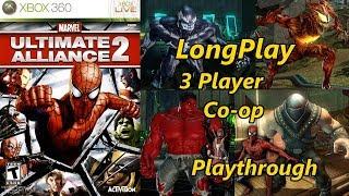 Marvel Ultimate Alliance 2 - Longplay 3 Player Co-op Full Game Walkthrough (No Commentary)