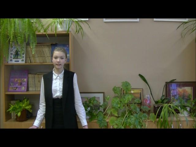Изображение предпросмотра прочтения – КаринаНоскова читает произведение «Свинья под дубом» И.А.Крылова
