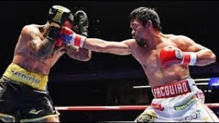 Manny Pacquiao Knockout Power Punch @Round 7 | Pacquiao vs Matthysse