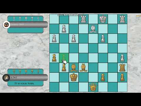 Beating Simply Chess level 100