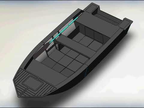 Лодка из полипропилена своими руками чертежи выкройки