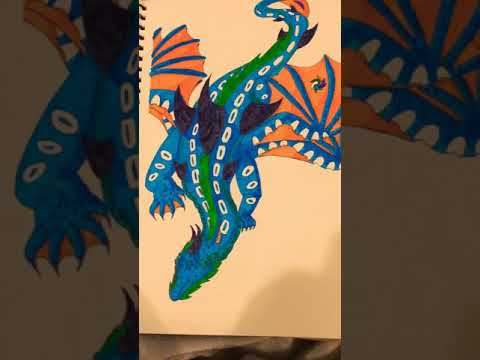Dragon Drawing Because Why Not.
