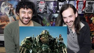 TRANSFORMERS: THE LAST KNIGHT FINAL TRAILER REACTION & REVIEW!!!