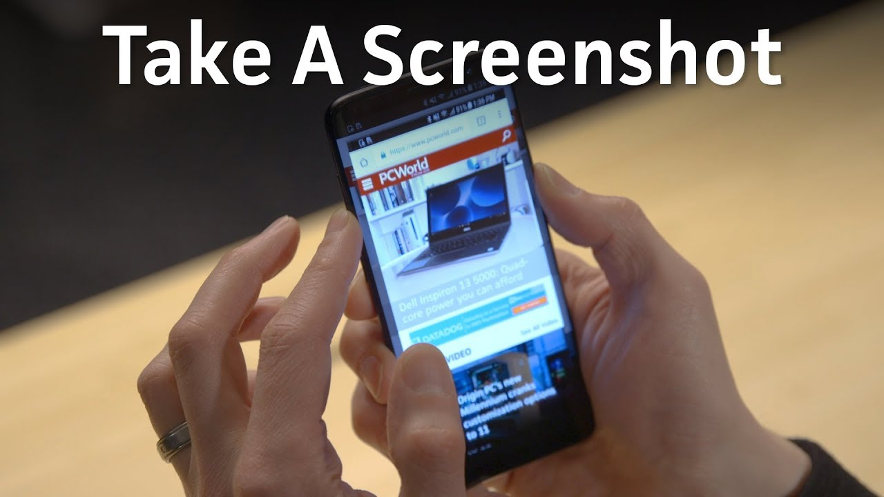 3 Ways To Take A Screenshot On Android Youtube