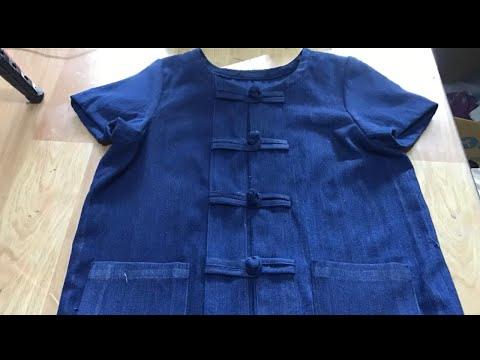 EP.21 สอนตัดเสื้อม่อฮ่อม ติดกระดุมจีนแบบง่ายๆ