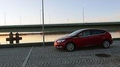 Kaaran koeajossa perusautojen aatelinen Ford Focus 1.0 Ecoboost A6