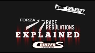 Forza Race Regulations Explained/March Update