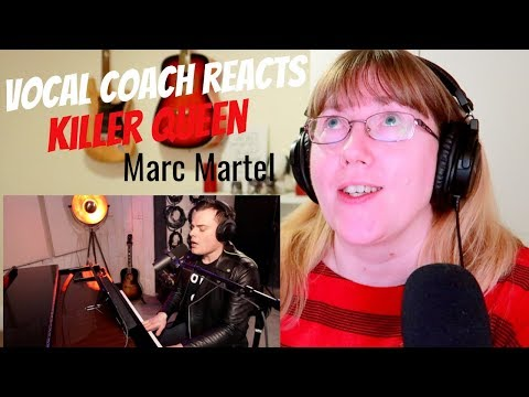 Vocal Coach Reacts to Killer Queen - Marc Martel One Take