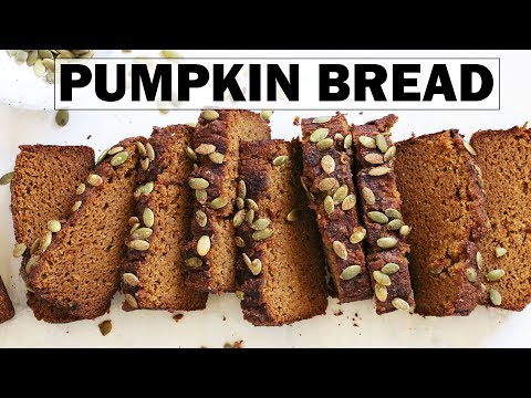 Gluten Free Pumpkin Bread || One Bowl + Easy Recipe