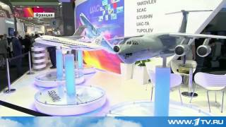В Ле Бурже открылась выставка авиатехники.