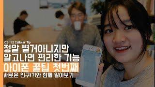 아이폰 꿀팁 첫 번째. 정말 별거아니지만 알고나면 편리한 기능! feat. 새로운친구