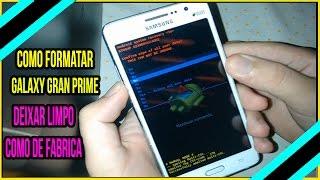 Como Formatar Galaxy Gran Prime Duos SM-G530, G531BT, G530H, G531, G530BT, G531H - Hard Reset