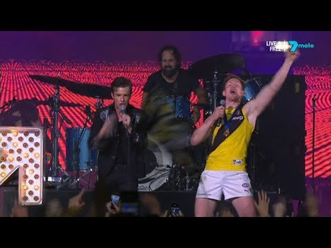 The Killers - 2017-09-30 - AFL Grand Final | Post-Game | Melbourne Cricket Ground