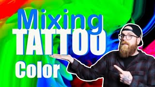 ?How I Mix TATTOO ink ?