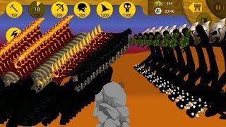 ELITE SOLDIERS GRIFFON VS FINAL BOSS | Best strategy Stick war legacy Huge Update