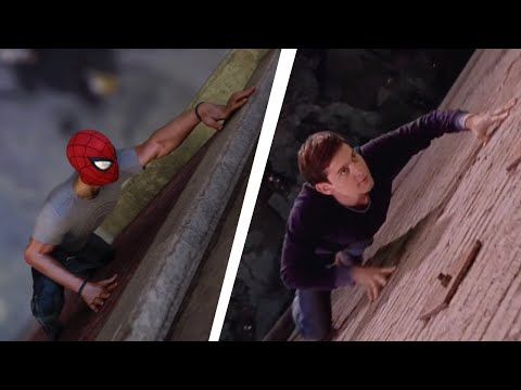 "Spider-Man PS4 Recreating Spider-Man 1 New Powers / ""Go Web Go"" scene"