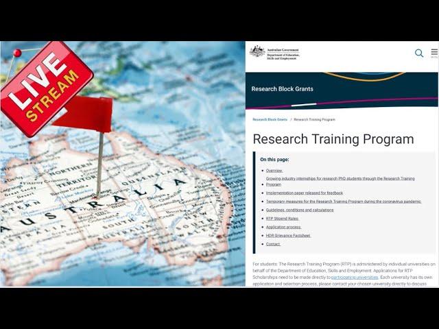 Australian Government Scholarship for International Student 2022