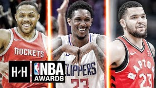 VERY Best Highlights of Eric Gordon, Lou Williams & Fred VanVleet From the 2017-18 NBA Season!