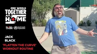 """Try Jack Black's """"Flatten The Curve"""" Work-Out 
