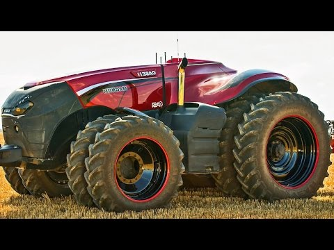 Такие технологии и не снились - трактор дрон Case
