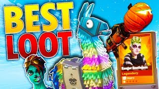 BEST 15x BIRTHDAY Llama OPENING! | *INSANE LOOT* | Fortnite Save The World