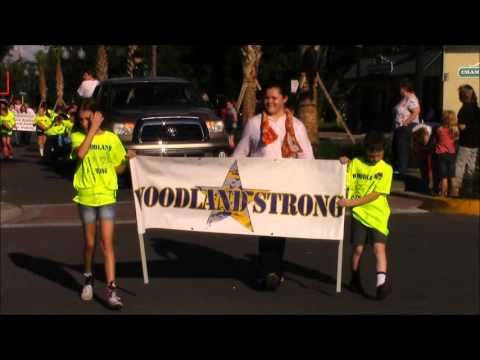 Zephyrhills High School Homecoming Parade 2015